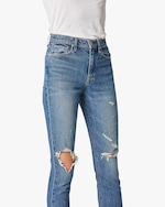 Hudson Holly High-Rise Crop Straight Jeans 4
