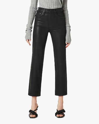 Hudson Remi High-Rise Cropped Straight Jeans 1