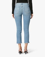 Hudson Barbara High-Waist Cropped Straight Jeans 3