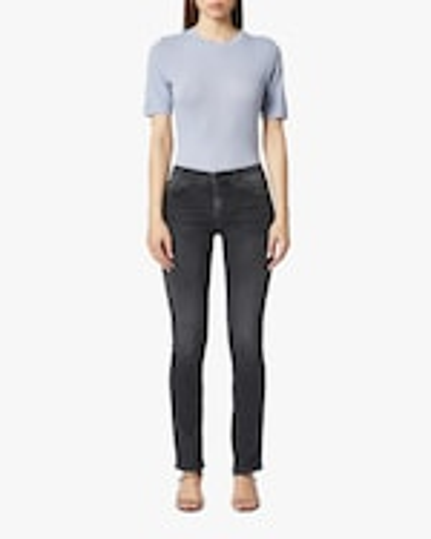 Hudson Nico Mid-Rise Straight Jeans 0
