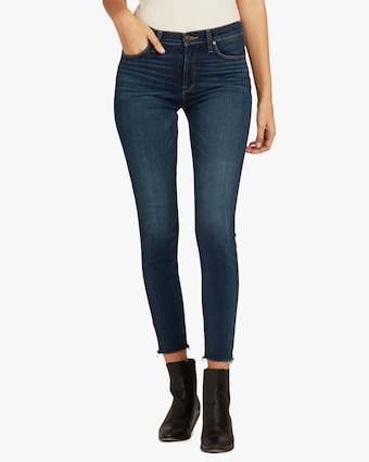 Hudson Nico Mid-Rise Super Skinny Ankle Jeans 1