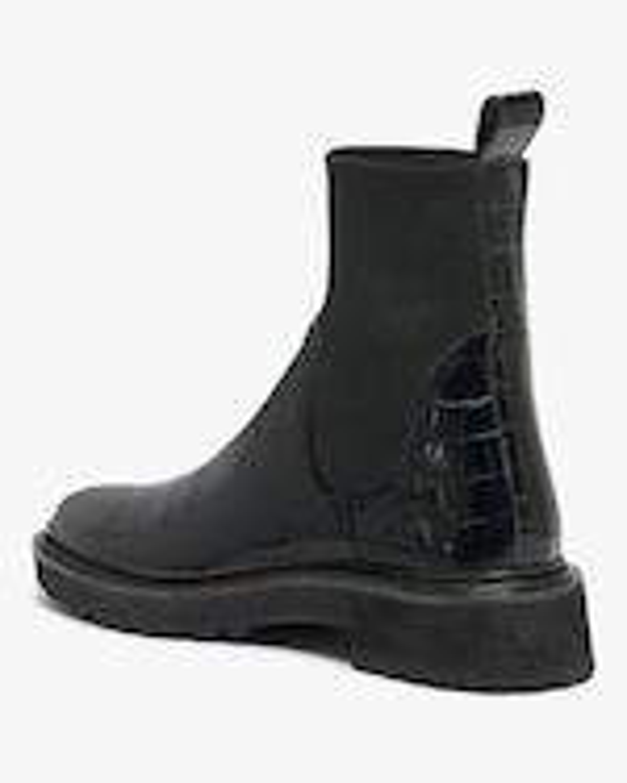 Loeffler Randall Black Bridget Chelsea Combat Boot 2