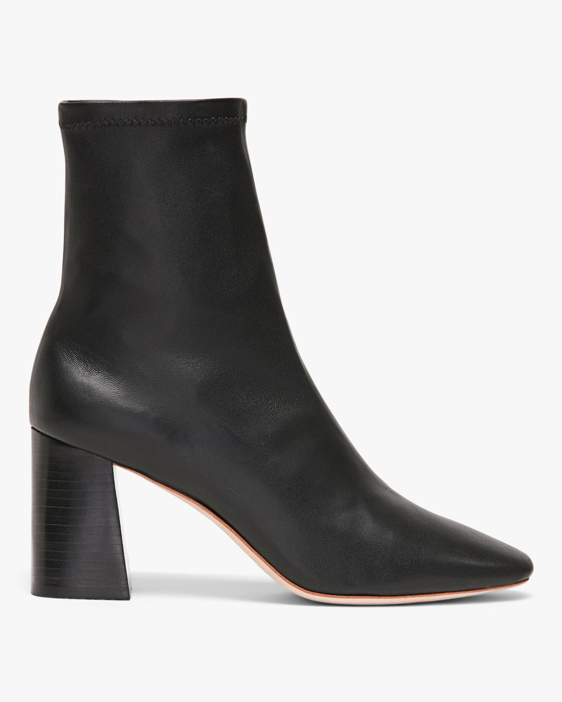 Black Elise Slim Ankle Boot