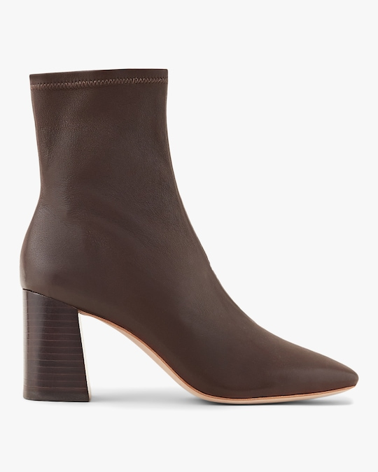Loeffler Randall Chocolate Elise Slim Ankle Boot 0