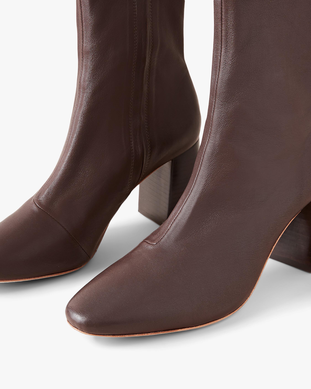 Loeffler Randall Chocolate Elise Slim Ankle Boot 4