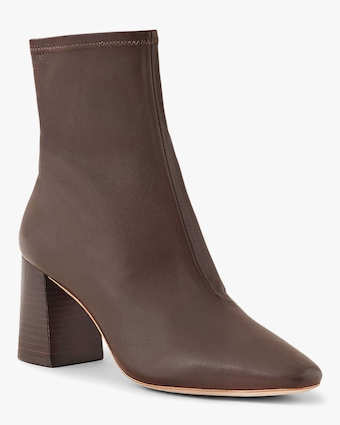 Loeffler Randall Chocolate Elise Slim Ankle Boot 2