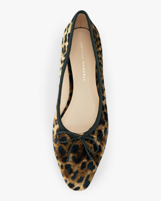 Loeffler Randall Mocha Leopard Georgie Ballet Flat 2