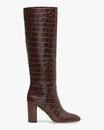 Loeffler Randall Dark Brown Goldy Tall Boot 0