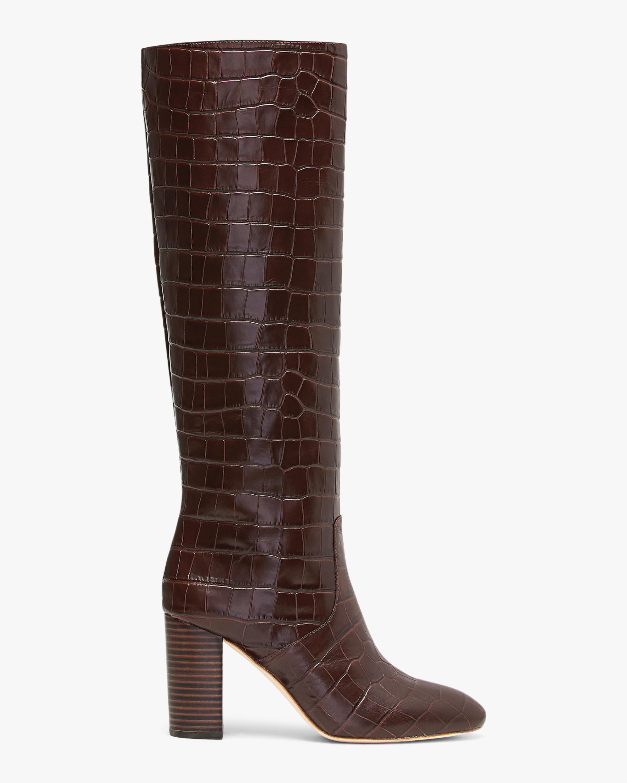 Loeffler Randall Dark Brown Goldy Tall Boot 1