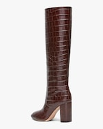 Loeffler Randall Dark Brown Goldy Tall Boot 2
