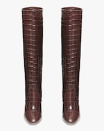 Loeffler Randall Dark Brown Goldy Tall Boot 3