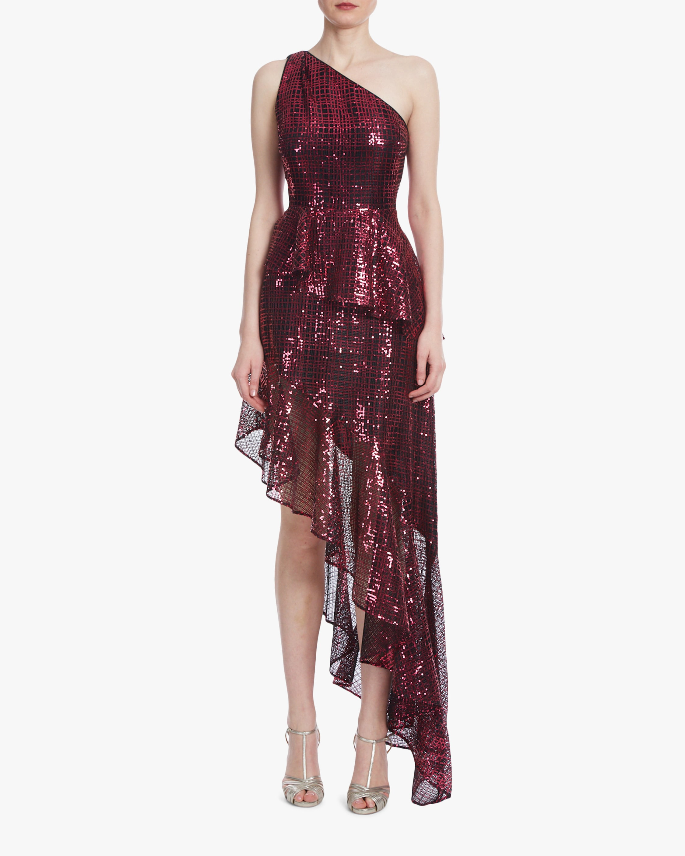 One33 Social One-Shoulder Hi-Low Dress 1