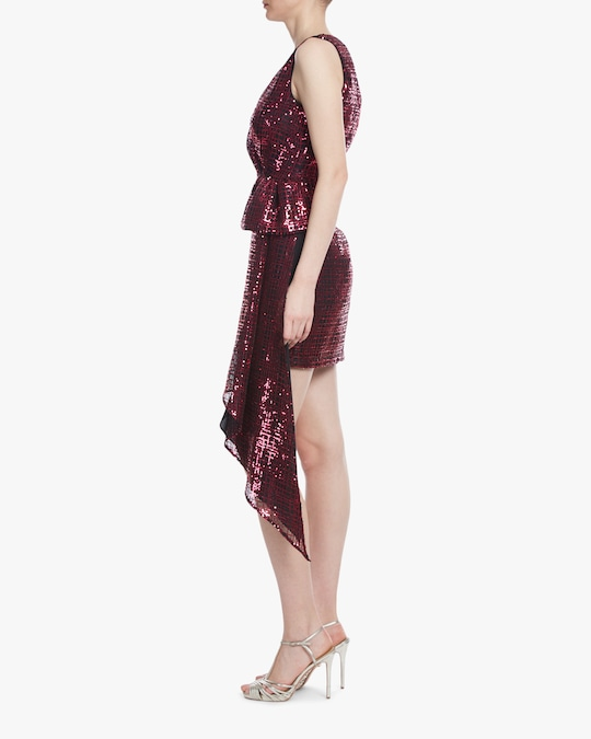 One33 Social Bow-Front Cocktail Dress 1