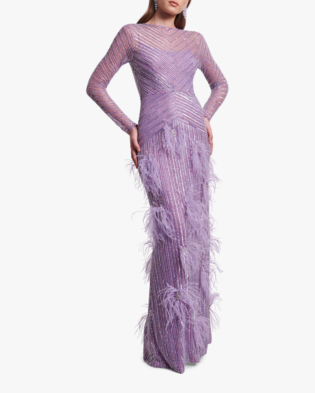 Rachel Gilbert Petunia Gown 1