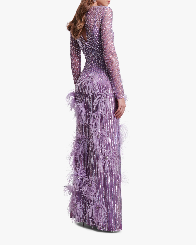 Rachel Gilbert Petunia Gown 2