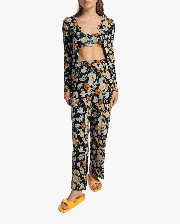 Leset Lori Floral Burnout Pants 2