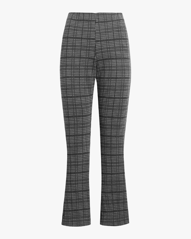Leset Stili Plaid Crop Flare Pants 1