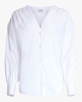 Jason Wu V Neck Button Down 1