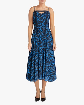 Jason Wu Asymmetric Midi Dress 2