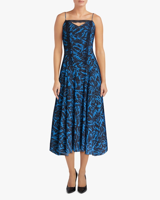 Jason Wu Asymmetric Midi Dress 1