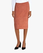 Jason Wu Suede Skirt 1
