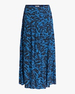 Jason Wu Pleated Midi Skirt 0