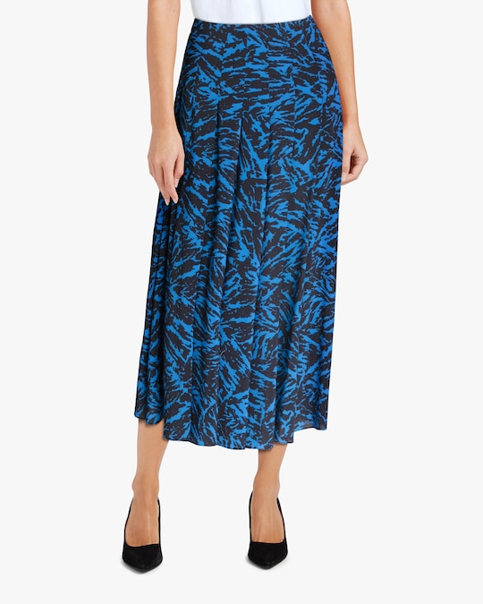 Jason Wu Pleated Midi Skirt 1