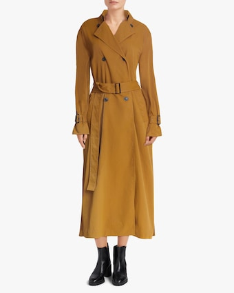 Jason Wu Pleated Back Trench Coat 2