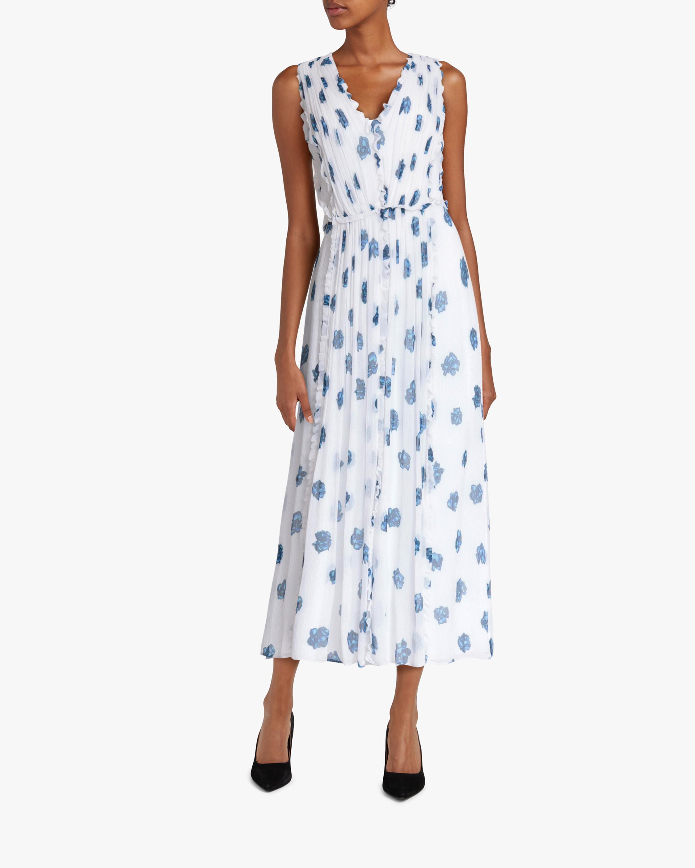 Jason Wu Ruffle V-Neck Dress 1