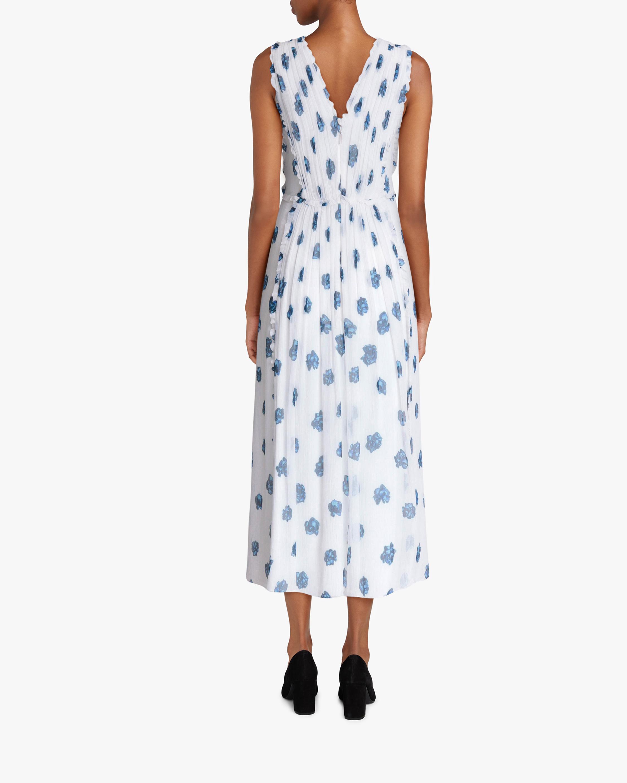 Jason Wu Ruffle V-Neck Dress 2