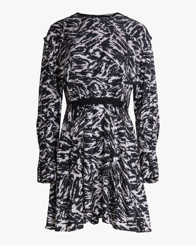 Jason Wu Crewneck Mini Dress 0