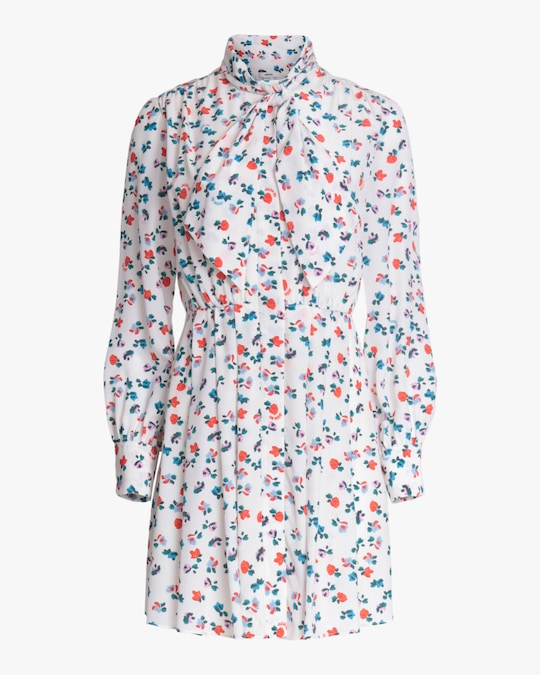 Jason Wu Neck-Tie Shirt Dress 0