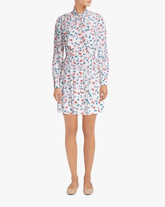 Jason Wu Neck-Tie Shirt Dress 2