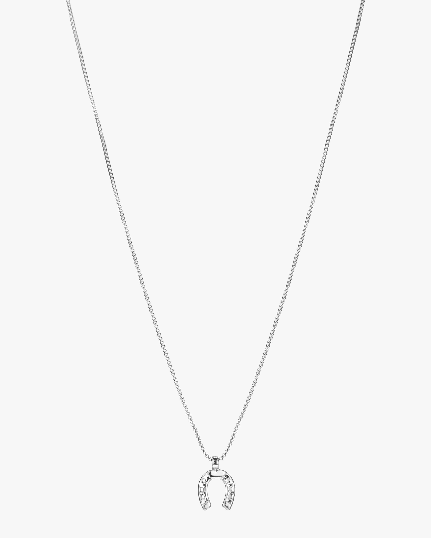 Jenny Bird Horseshoe Pendant Necklace 2