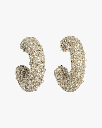 Lizzie Fortunato Mirror Hoop Earrings 1