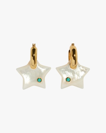 Lizzie Fortunato Jumelle Star Earrings 1