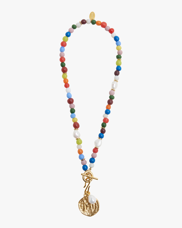 Lizzie Fortunato Confetti Coin Necklace 1