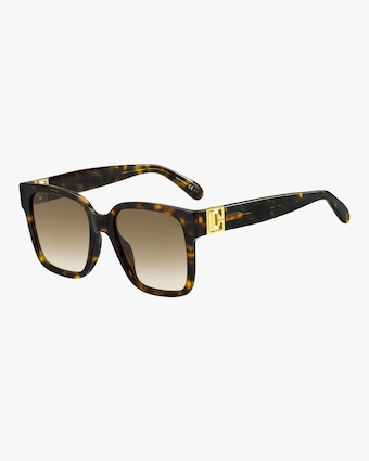Givenchy Havana Square Sunglasses 1