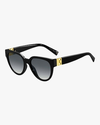 Givenchy Black Oval Sunglasses 1