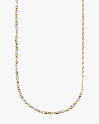 objet-a Sapphire Curb Chain Necklace 2