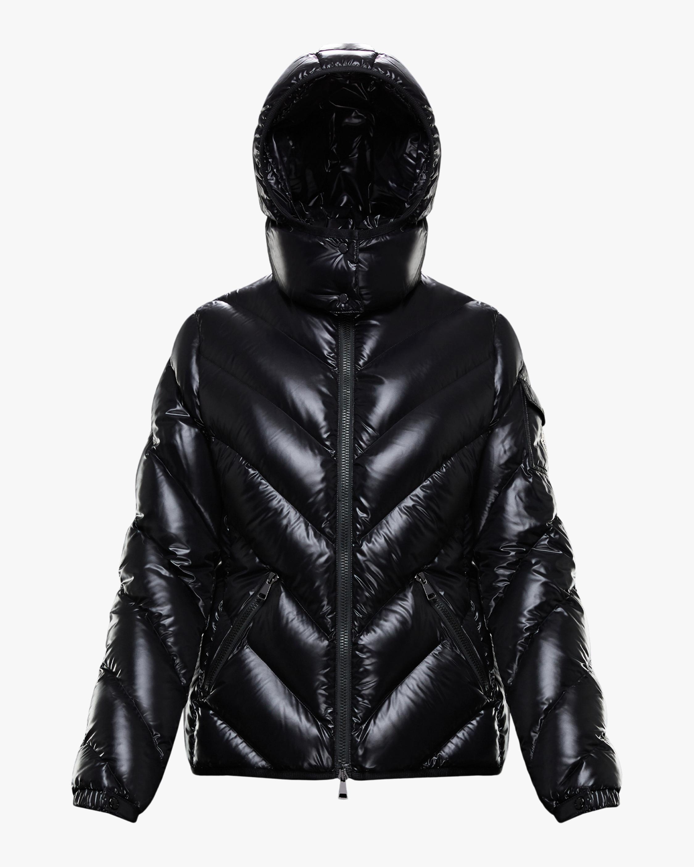 Moncler Brouel Lacquer Short Puffer Coat 0