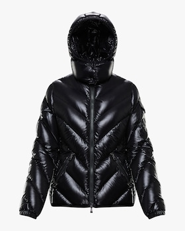 Brouel Lacquer Short Puffer Coat