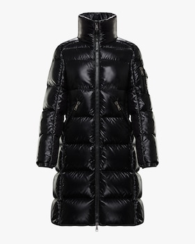 Moyadons Lacquer Puffer Coat