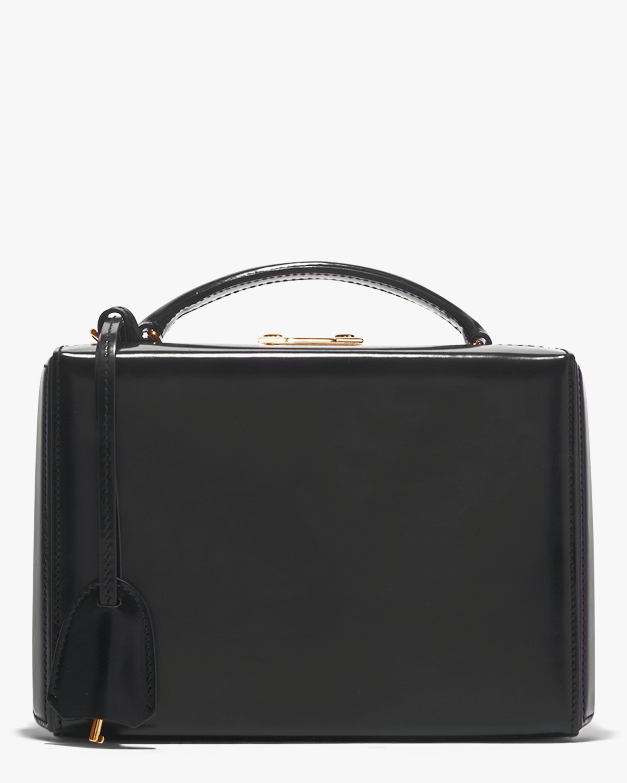 Mark Cross Black Grace Small Box Handbag 1