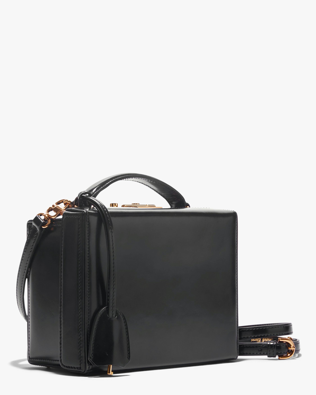 Mark Cross Black Grace Small Box Handbag 2