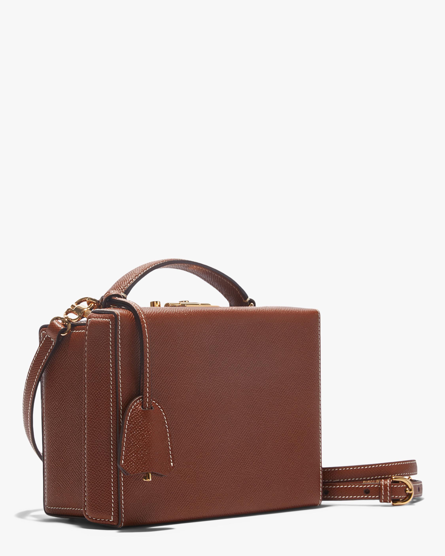 Mark Cross Acorn Grace Small Box Handbag 2