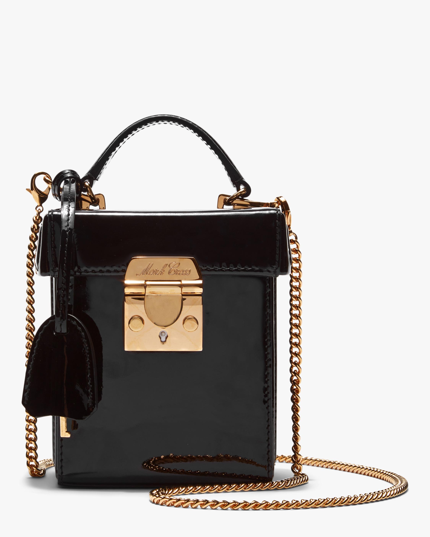 Mark Cross Black Grace Cube Handbag 1