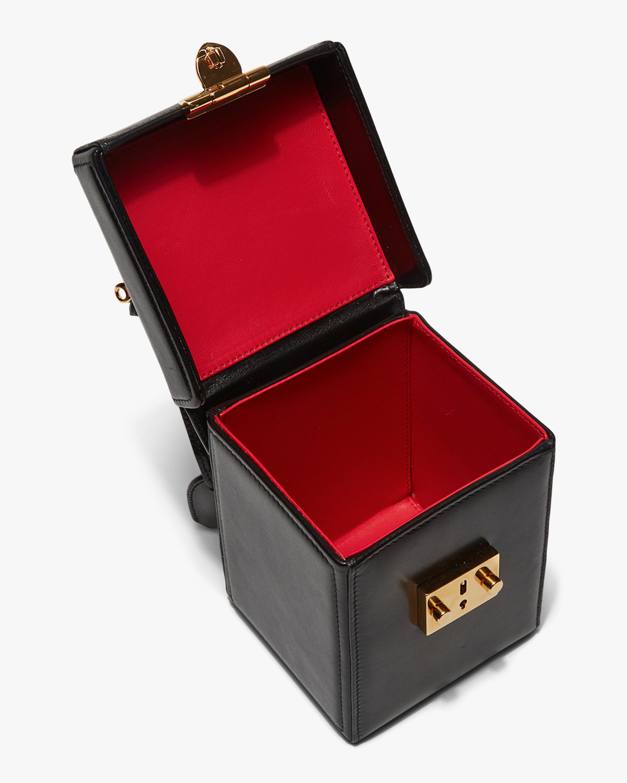 Mark Cross Black Grace Cube Handbag 2