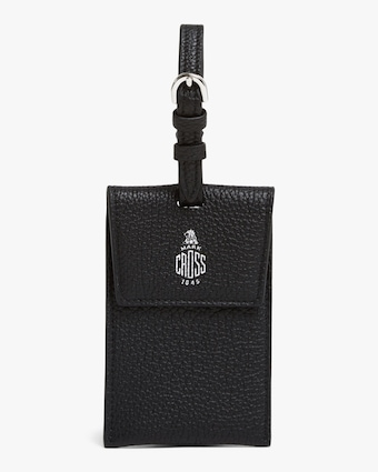 Mark Cross Black Luggage Tag 2