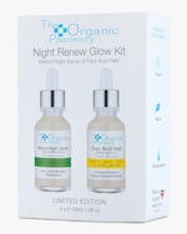 The Organic Pharmacy Night Renew Glow Kit 0